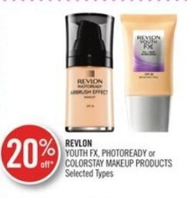 Revlon Youth Fx - Photoready or Colorstay Makeup Products