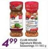 Club House Signature Blends Seasonings