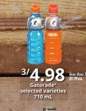 Gatorade - 710 mL