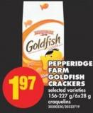 Pepperidge Farm Goldfish Crackers - 156-227 G/6x28 g