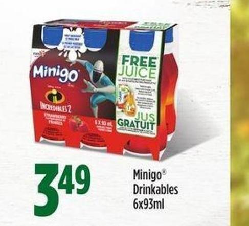 Minigo Drinkables - 6x93ml