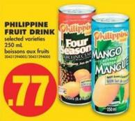 Philippine Fruit Drink - 250 mL