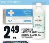 Personnelle Antiseptic Swabs