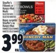 Stouffer's Fitbowls Or Hungry-man Meals