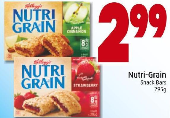 Nutri-grain Snack Bars 295g