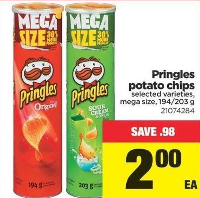 Pringles Potato Chips - 194/203 G