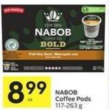 Nabob Coffee Pods 117-263 g