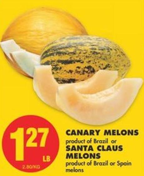 Canary Melons or Santa Claus Melons