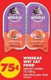 Whiskas Wet Cat Food - 75/100 g