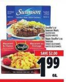 Stouffer's Or Swanson Meals | Repas Stouffer's Ou Swanson