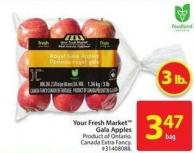 Your Fresh Market Gala Apples