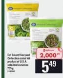 Eat Smart Vineyard Collection Salad Kit - 255g