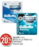 Gillette 5 (4's) - Mach3 (5's) or Venus (4's) Cartridges