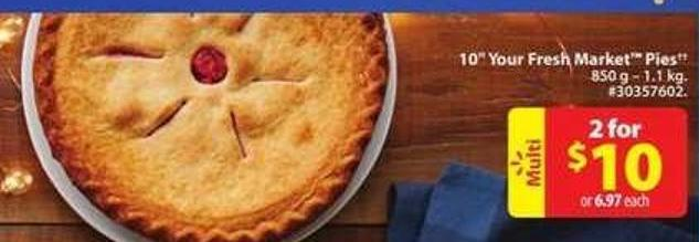 10 Your Fresh Market Pies