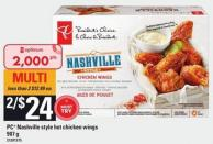 PC Nashville-style Hot Chicken Wings - 907 g