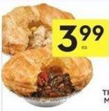 Pot Pies Beef or Chicken or Shepherd's Pie 350-375 g