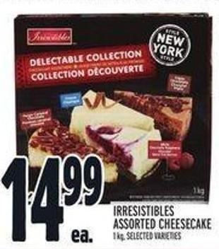 Irresistibles Assorted Cheesecake