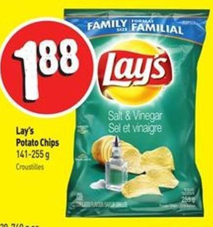 Lay's Potato Chips 141-255 g