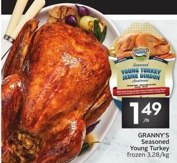 Granny's Seasoned Young Turkey