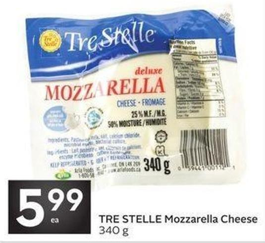 Tre Stelle Mozzarella Cheese
