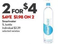Smartwater 1l Bottle