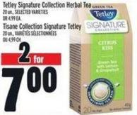 Tetley Signature Collection Herbal Tea