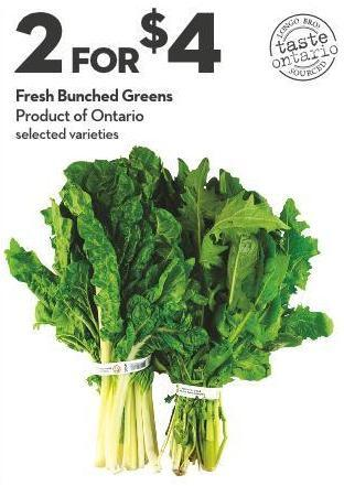 Fresh Bunched Greens