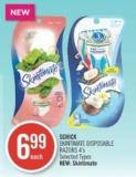 Schick Skintimate Disposable Razors 4's