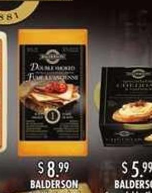 Balderson Double Smoked Cheddar Cheese