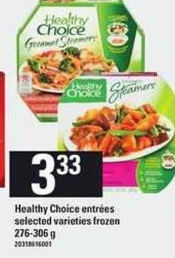 Healthy Choice Entr'es - 276-306 g