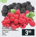 Blackberries Or Driscoll' S Raspberries - 170 G