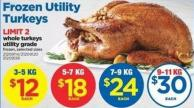 Whole Turkey Utility Grade - 5-7 Kg