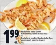Pacific White Shrimp Skewer