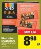 Kind Mini Snack Bars - 200 g