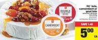 PC Brie - Camembert Or Goat Brie - 165-200g