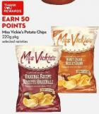 Miss Vickie's Potato Chips 220g Pkg
