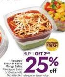 Prepared Fresh In-store Mango Salsa