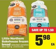 Little Northern Bakehouse Frozen Bread - 454-567 g