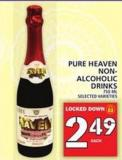 Pure Haven Pure Non- Alcoholic Drinks