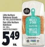 Little Northern Bakehouse Breads 454 - 482 g