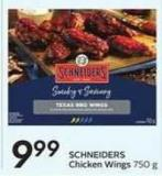 Schneiders Chicken Wings 750 g