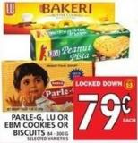 Parle-g - Lu Or Ebm Cookies Or Biscuits