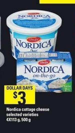Nordica Cottage Cheese - 4x113 g - 500 g