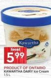 Kawartha Dairy Ice Cream 1.5 L