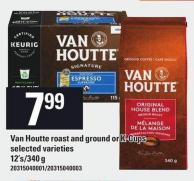 Van Houtte Roast And Ground Or K-cups - 12's/340 G