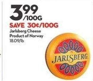 Jarlsberg Cheese Product of Norway