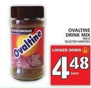 Ovaltine Drink Mix