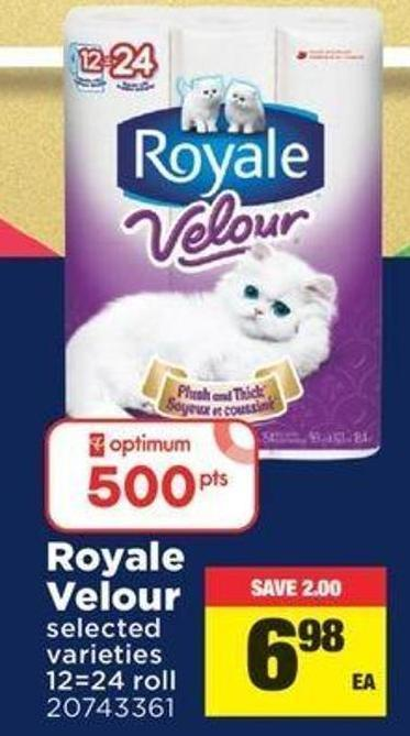 Royale Velour - 12=24 Roll