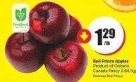 Red Prince Apples