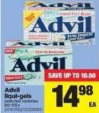 Advil Liqui-gels - 80-115's
